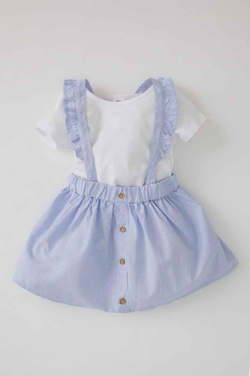 DeFacto 2-in-1-Kleid »BabyGirl Kleid RELAX FIT« (Packung, 2-tlg)