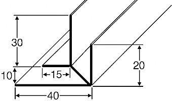 Baukulit Kantenprofile (2er-Set)