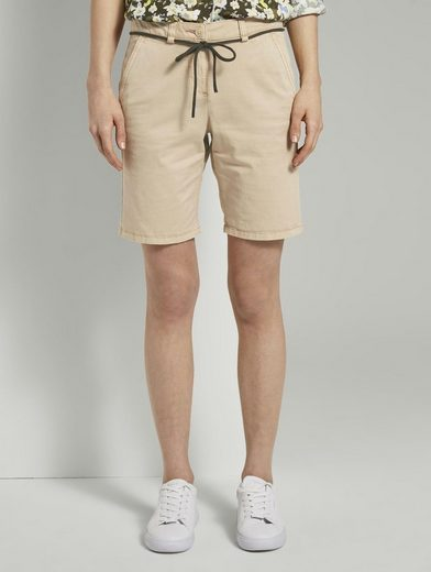 TOM TAILOR Shorts »Chino Relaxed Bermuda Shorts«
