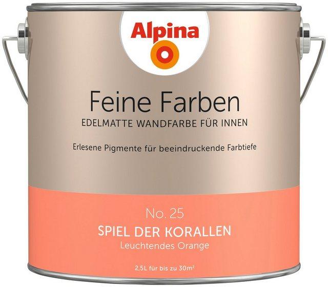 Alpina Feine Farben Spiel der Korallen, orange