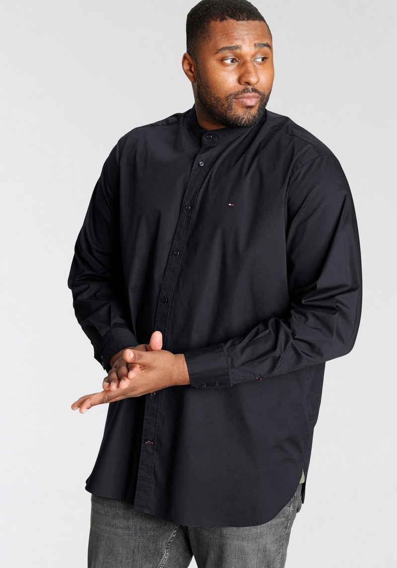 Tommy Hilfiger Big & Tall Langarmhemd »BT-STRETCH MAO POPLIN SHIRT«