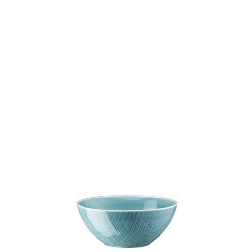Rosenthal Müslischale »Mesh Colours Aqua Müslischale 14 cm«, Porzellan, (1-tlg)