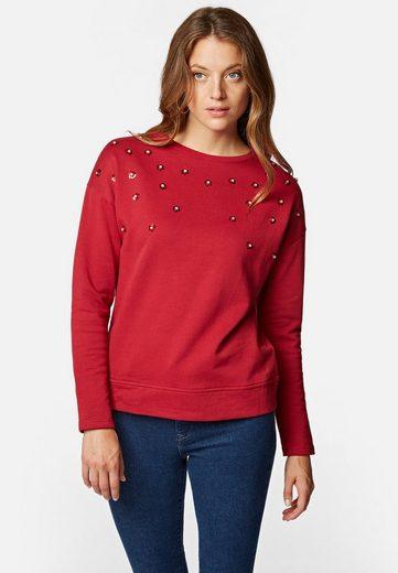 Mavi Rundhalspullover »STUD DETAIL SWEATSHIRT« Sweater mit Details