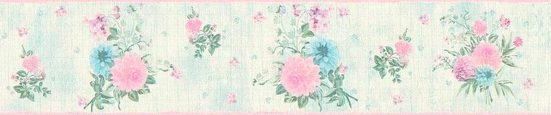 living walls Bordüre »Djooz«, floral, geblümt, mit Blumen, Vlies