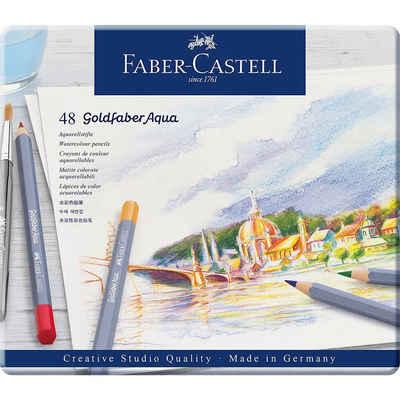 Faber-Castell Buntstift »Aquarell-Buntstifte Goldfaber, 48 Farben«