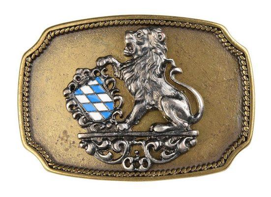 Goodman Design Gürtelschnalle »Bayern für Wechselgürtel« Hergestellt in Italien und Deutschland