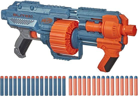 Hasbro Blaster »Nerf Elite 2.0 Shockwave RD-15«, inkl. 30 Darts