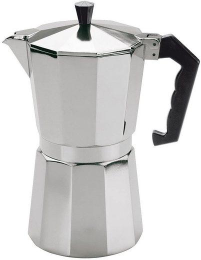 """Cilio Kaffeebereiter Cilio - Espressokocher """"Aluminium Classico"""" 3 Tassen 320602"""