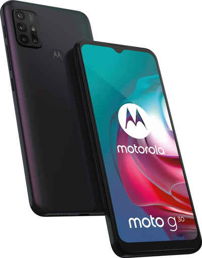 Motorola moto g30 Smartphone (16,51 cm/6,5 Zoll, 128 GB Speicherplatz, 64 MP Kamera)