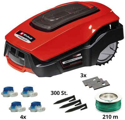 Einhell Rasenmähroboter »FREELEXO 1200 LCD BT«, bis 1200 m² Rasenfläche