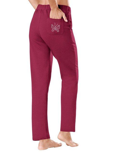 Hosen - Plantier Homewearpants › rosa  - Onlineshop OTTO