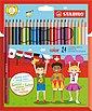 STABILO Dekorierstift »Buntstifte color, 24 Farben«, Bild 1