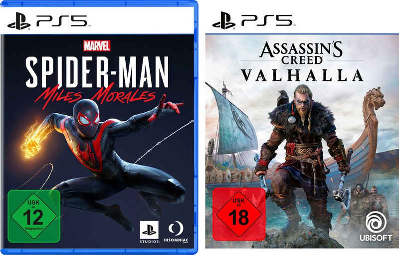 Marvel's Spider-Man: Miles Morales + Assassin's Creed Valhalla PlayStation 5