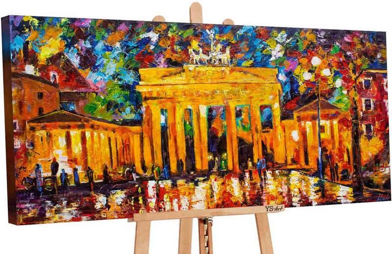 YS-Art Gemälde »Brandenburger Tor PS076«