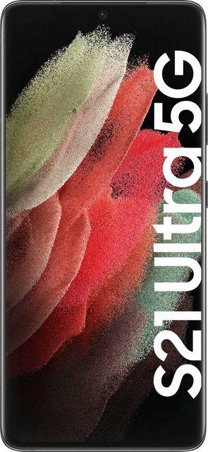 Samsung Galaxy S21 Ultra 5G Smartphone (17,3 cm/6,8 Zoll, 128 GB Speicherplatz, 108 MP Kamera, 3 Jahre Garantie)