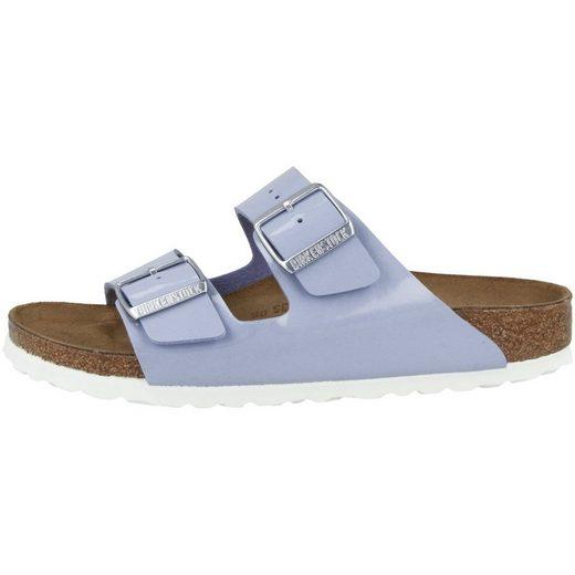 Birkenstock »Arizona Birko-Flor Lack schmal« Sandale