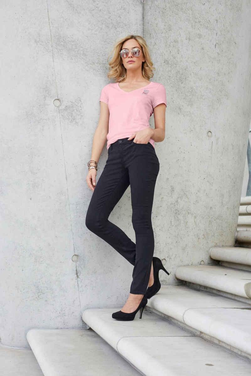 H.I.S Slim-fit-Jeans »Regular-Waist« Nachhaltige, wassersparende Produktion durch OZON WASH