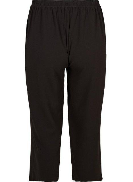 Zizzi Culotte Große Größen Damen Schlichte Culottes mit Taschen und Stretch | Bekleidung > Hosen > Culottes | Zizzi