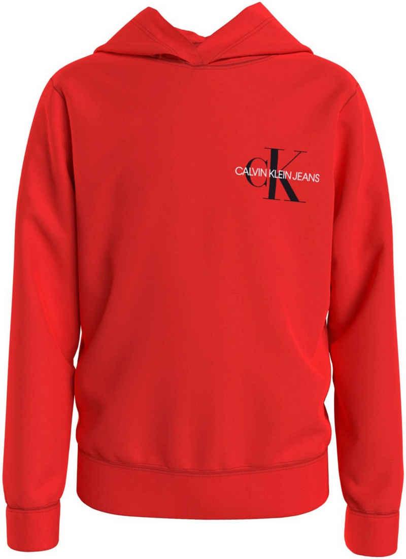 Calvin Klein Jeans Kapuzensweatshirt »SMALL MONOGRAM HOODIE« mit Logo