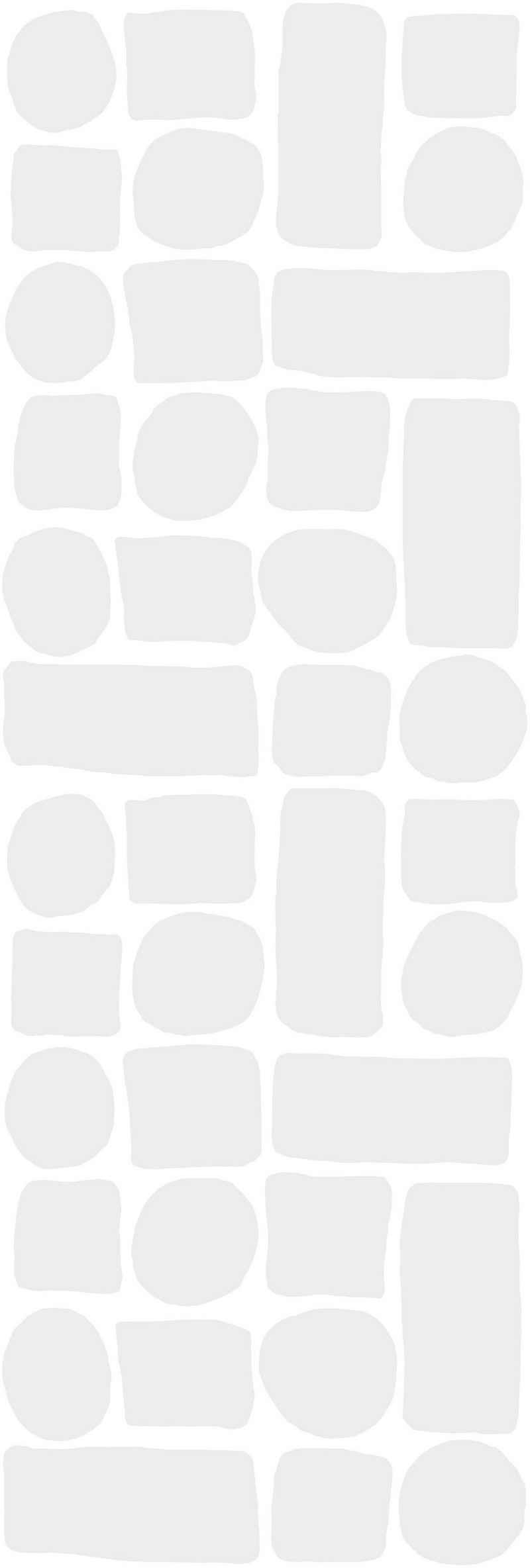 Fenstersticker »Transparent«, Kleine Wolke, halbtransparent, glatt, für Bad und Dusche