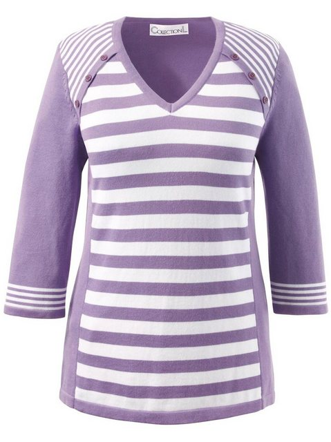 Casual Looks Streifenpullover | Bekleidung > Pullover > Streifenpullover | Casual Looks