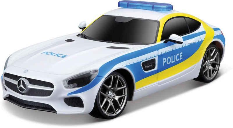 Maisto Tech RC-Auto »Mercedes AMG GT, Polizei«, mit Licht und Sound