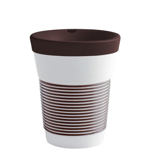 Kahla Coffee-to-go-Becher »cupit 0,35 l«, Porzellan, Made in Germany