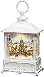 "KONSTSMIDE LED Laterne, LED Wasserlaterne, weiß, ""Weihnachtsmarkt"""