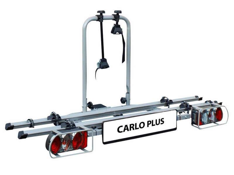 EUFAB Kupplungsfahrradträger »Carlo Plus«, für max. 2 Räder