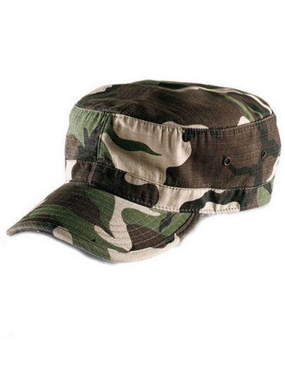 Atlantis Army Cap »Military Ripstop Kappe Cuba-Cap« Vorgebogener Schirm