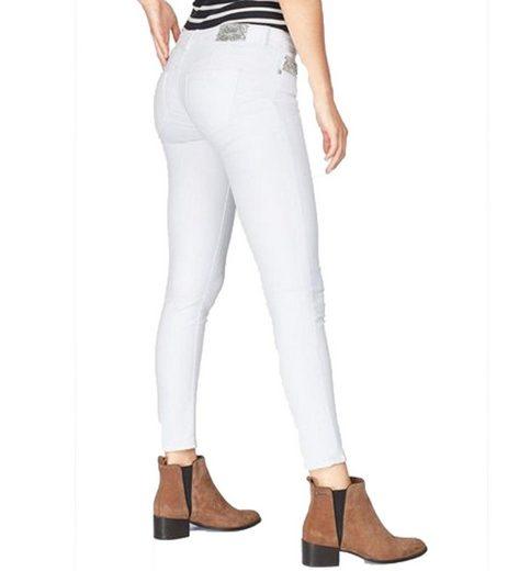 Kaporal Regular-fit-Jeans »KAPORAL Jypsy Jeans stylische Damen Freizeit-Hose Trend-Hose mit Push-Up Effekt Weiß«