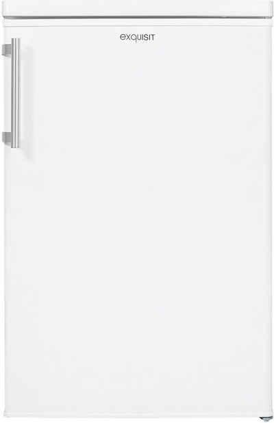 exquisit Kühlschrank KS16-V-040E weiss, 85,5 cm hoch, 55 cm breit
