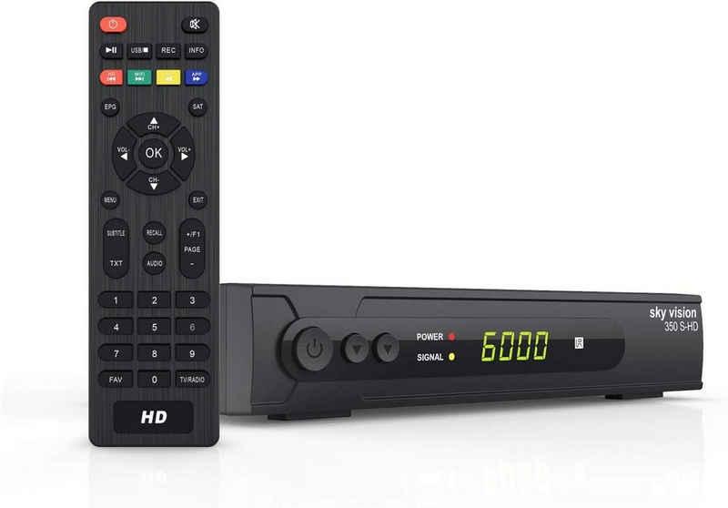 Sky Vision »sky vision HD SAT Receiver 350 S-HD - HDMI Receive« Satellitenreceiver