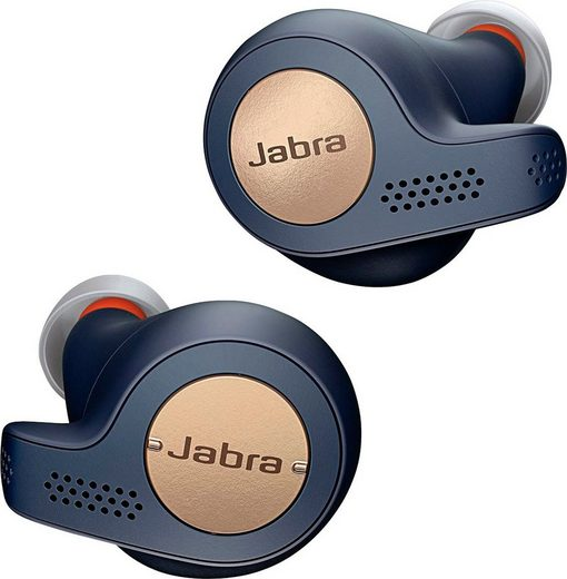 Jabra »Elite Active 65t« wireless In-Ear-Kopfhörer (Alexa, Siri, Google Assistant, Bluetooth)