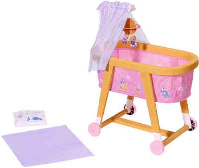 Baby Born Puppenbett »Gute Nacht Stubenwagen«, mit Stoffhimmel, Planetenmobile und Bettzeug