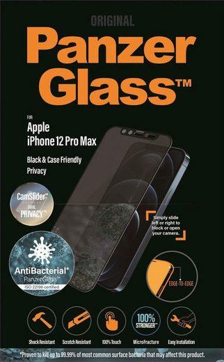 PanzerGlass »Privacy E2E iPhone 12 Pro Max CF CamSlider« für Apple iPhone 12 Pro Max, Displayschutzglas, 1 Stück