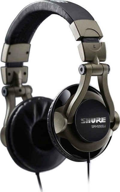 Shure »SRH550DJ« DJ-Kopfhörer