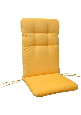 indoba Hochlehnerauflage »Relax« (2 St) Gelb ...