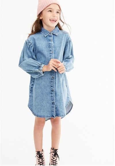 Next Jeanskleid »Hemdblusenkleid aus Denim« (1-tlg)