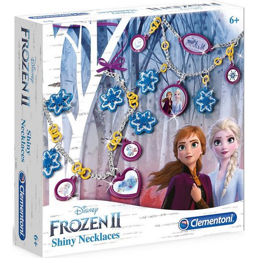Clementoni® Schmuckset »Frozen 2 - Glitzernde Ketten«