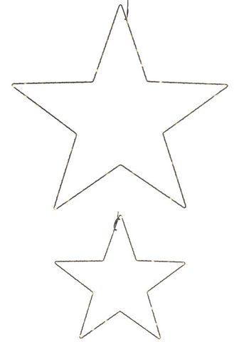 LED Stern »Drahtstern« Ø 30 cm + 50 cm...