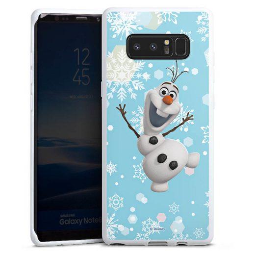 DeinDesign Handyhülle »Frozen Olaf« Samsung Galaxy Note 8, Hülle Frozen Olaf Disney Offizielles Lizenzprodukt