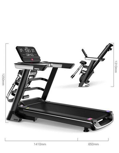 Technofit Laufband »Multifunktionales Laufband Fitnessgerät & Fitnessstation mit LED Display«