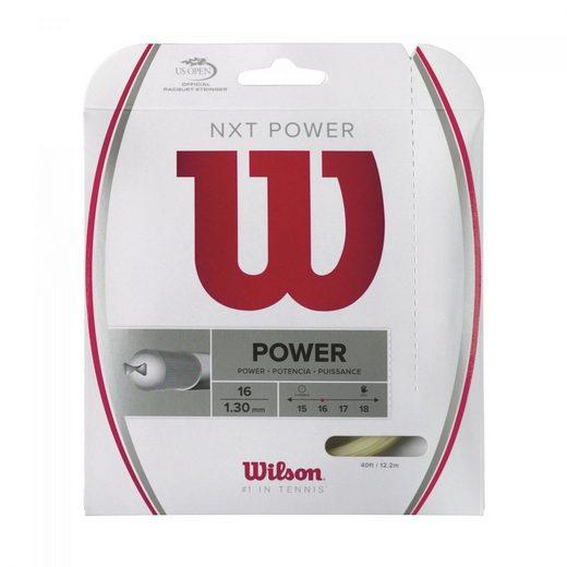 Wilson Tennisschläger »Wilson Nxt Power Saitenset«