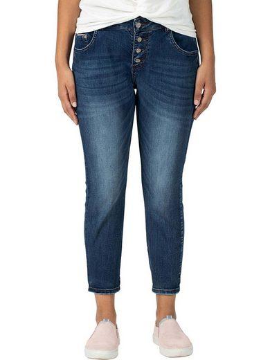 TIMEZONE Straight-Jeans »Jilly« Jeanshose mit Stretch