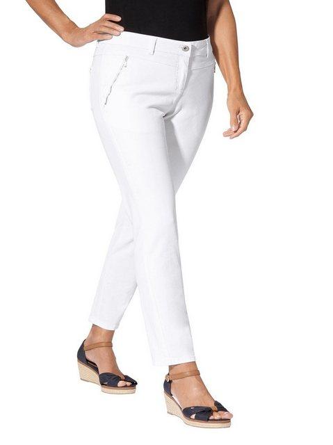 Hosen - Casual Looks Gerade Jeans › weiß  - Onlineshop OTTO