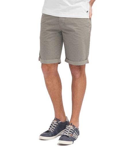 MUSTANG Shorts »MUSTANG Freizeit-Hose bequeme Herren Sommer-Shorts Denver Short im Chino-Stil kurze Hose Grau«