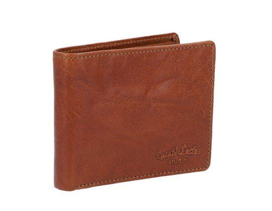 Gusti Leder Geldbörse »Easton« (1-tlg), Portemonnaie Kartenhülle Kartenhalter