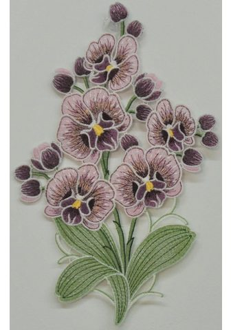 Stickereien Plauen Fensterbild »Orchidee«