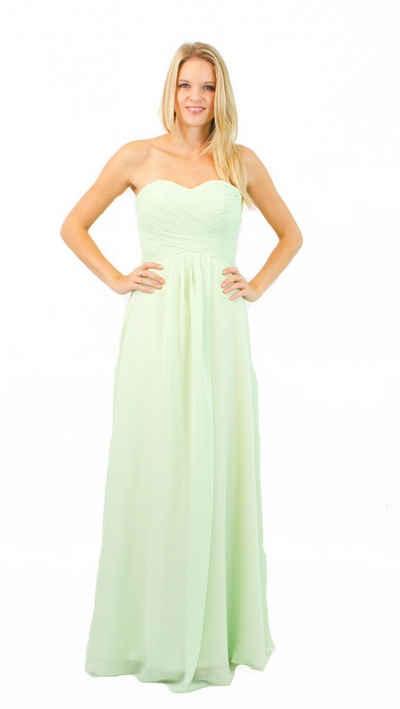 AvaMia Abendkleid »AvaMia-Kleid-3409 Festliches Chiffon Abendkleid, Chiffonkleid, langes Kleid« Festliches Chiffon Abendkleid, Chiffonkleid, langes Kleid